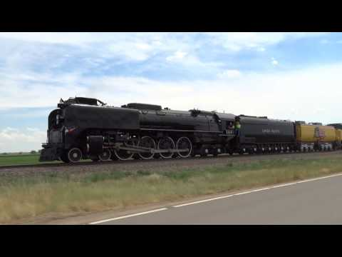 Union Pacific 844 From Denver to Greeley, CO 2017