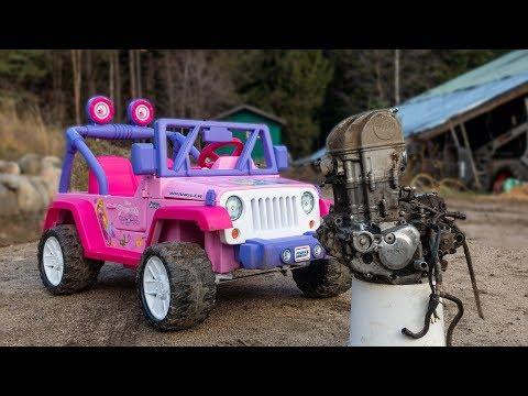 The Ultimate Barbie Jeep Build Part 1