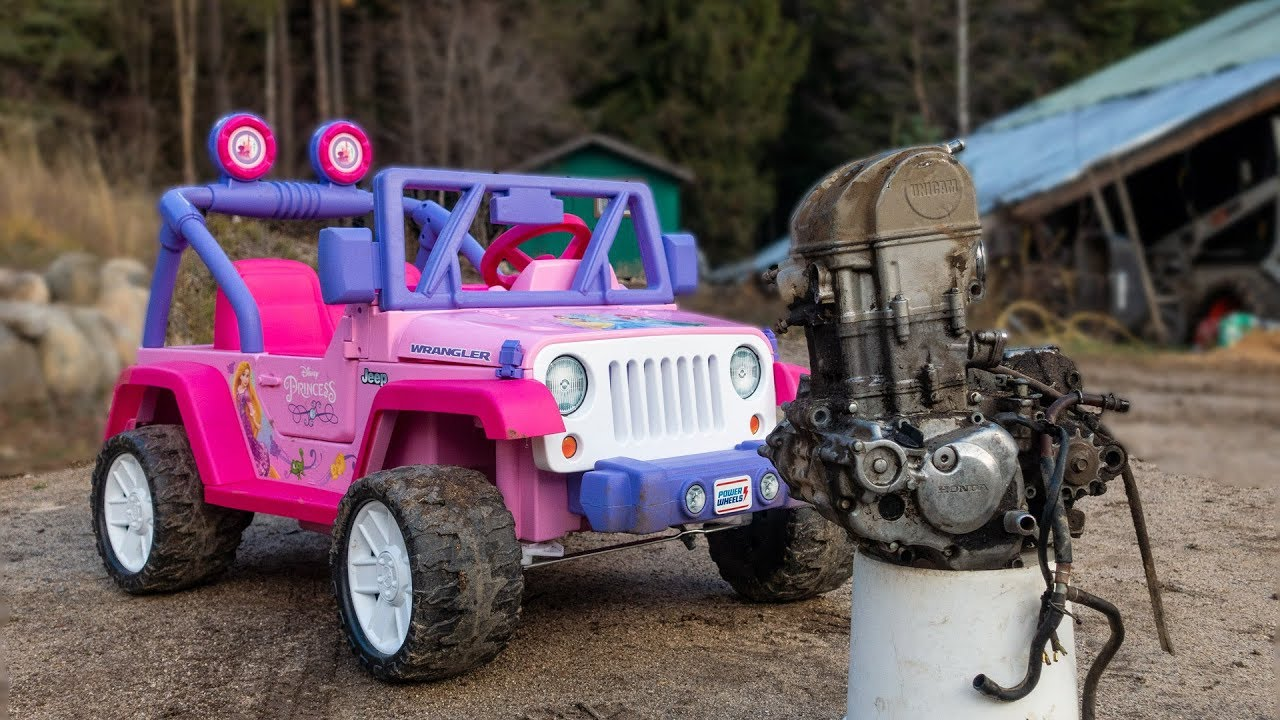 The Ultimate Barbie Jeep Build Part 1