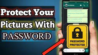 Comment Créer Un Mot De Passe Protégé Des Photos Et Des Documents | Protection Par Mot De Passe | Tech Wala