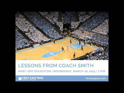 Lessons from Coach Dean Smith: Webinar and Q&A