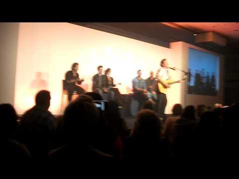 Fredric Lehne singing & playing guitar. Asylum 6