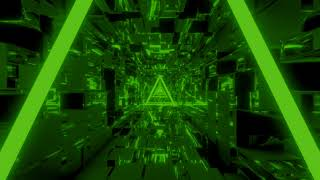 Green Neon Abstract Tunnel Loop Motion | motics  Wallpapers