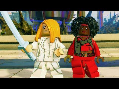 LEGO Marvel Super Heroes 2 Misty Knight Unlock Location + Free Roam Gameplay