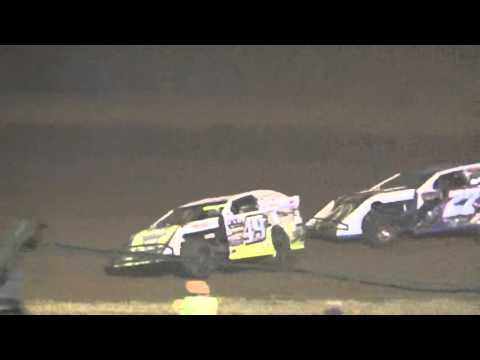 Ark La Tex Speedway modified heat race 3 9/26/15