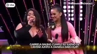 Venezolana que cantaba en autobuses en Perú logra el éxito en un reconocido programa