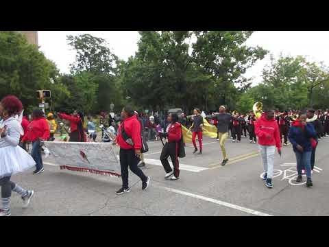 Loachapoka High School Marching Band   At 2018   Magic City Classic Parade  