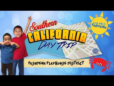 Pasadena Playhouse District (Southern California Auto Club Day Trip): Look Who's Traveling