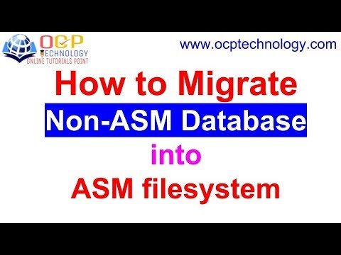 How to Migrate Non-ASM Database to ASM filesystem |Live Proof