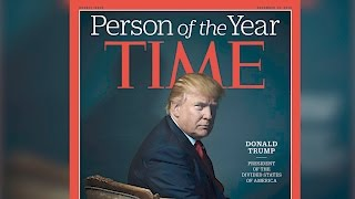 Donald Trump Reacts to Being Named Time's Person of the Year | Splash News TV