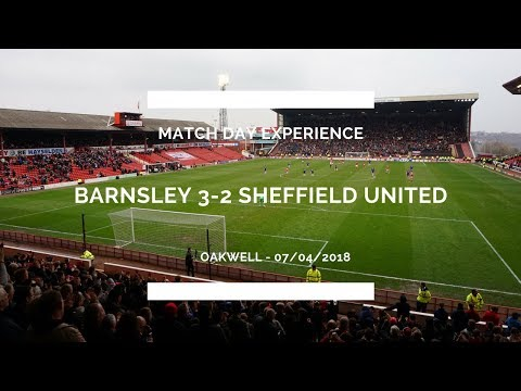 BARNSLEY 3-2 SHEFFIELD UNITED MATCH DAY EXPERIENCE - BEST GAME OF THE SEASON! LAST MINUTE GOAL!