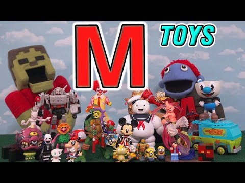 Toys Starting With Letter M Zombie Steve In Alphabet