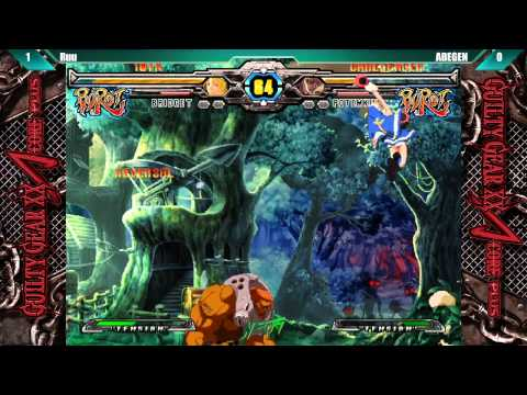NEC 15 Guilty Gear XX Accent Core +R Ruu vs ABEGEN |