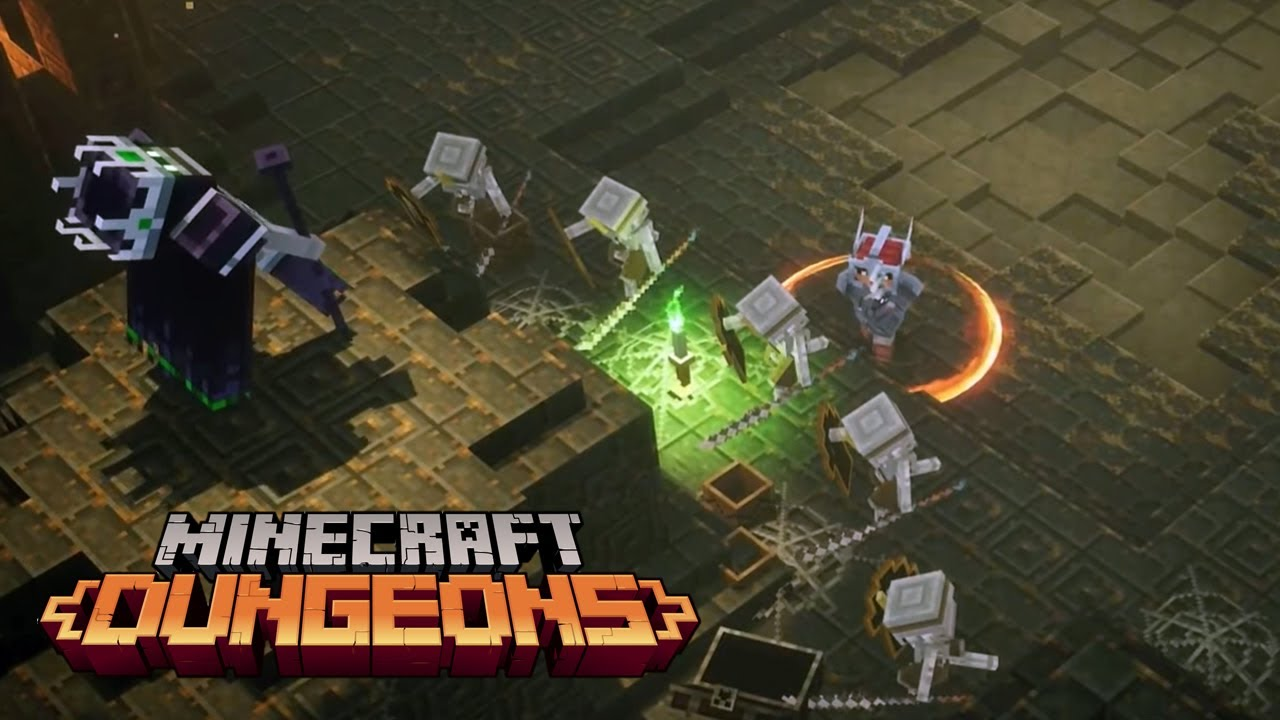 Full Minecraft Dungeons The Nameless Kingdom Level