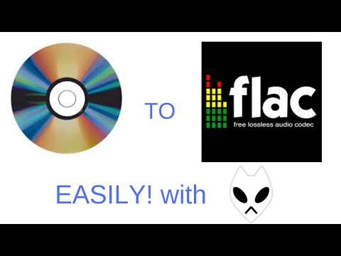 Rip A CD To FLAC Easily