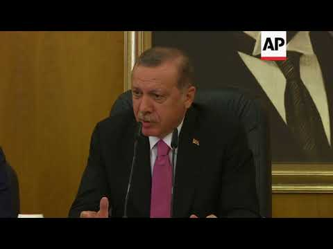 Erdogan on US indictments and  Myanmar
