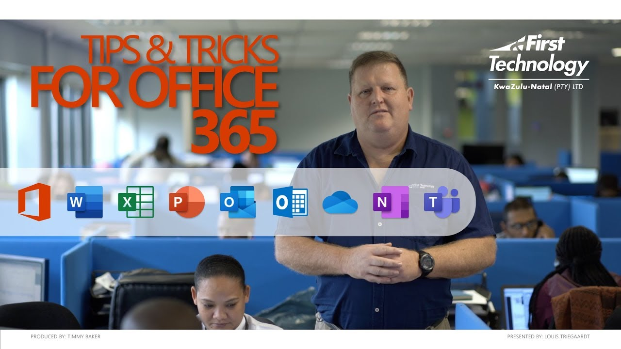 First Technology KZN - Office 365 - Quick Tips & Tricks - PowerPoint's easy design ideas