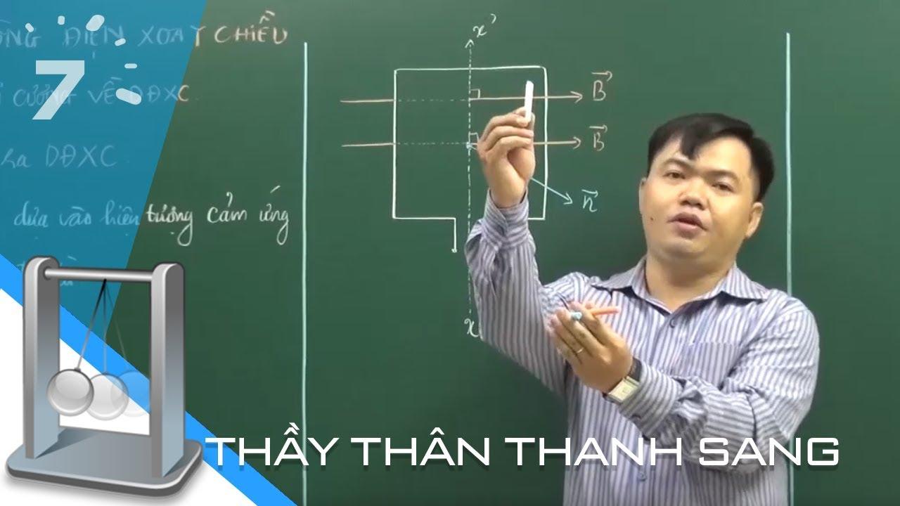 Vật lý 12 Bài 12: Đại cương về dòng điện xoay chiều   HỌC247