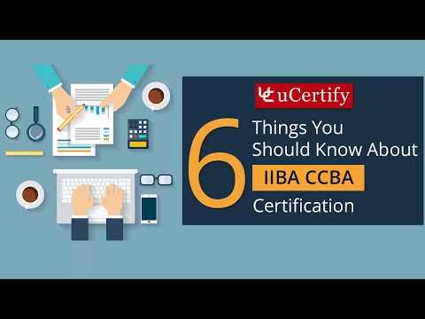 IIBA CCBA© Certification - YouTube