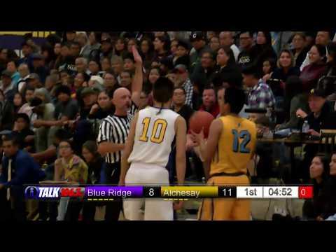 Achesay vs Blue Ridge Boys High School Basketball Full Game Falcons vs Yellowjackets
