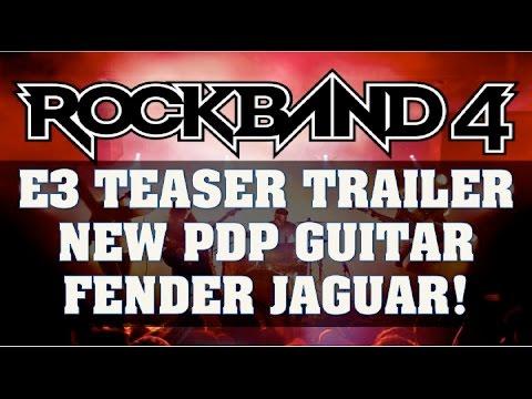 Rock Band 4 News: E3 2016 Teaser Trailer: New Gibson Jaguar Guitar From PDP & Re-Branding?