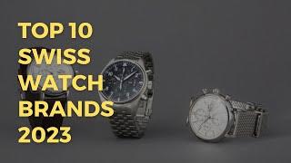 Top 10 Swiss Watch Brands 2018 | Top 10 Watch Brands in Switzerland 2018