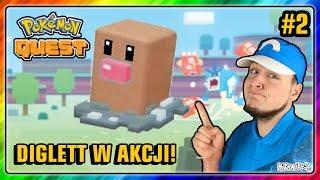 DIGLETT W AKCJI! Pokemon QUEST na Nintendo Switch #2