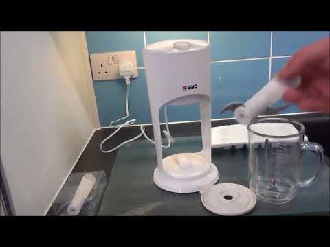Vivo © Slushy Maker Machine Kit Review,  Good solid performer that is safe to use