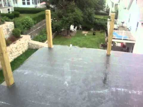 Rubber Roof Installation   Flashing