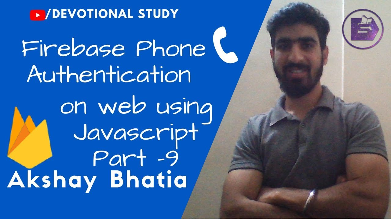Firebase Phone Number Authentication on Web with Material Design Lite in  Hindi | Part - 9