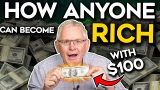 Millionaire Tries The Inveṡting $100 Challenge (This Is How to Invest For Beginners EP. 1)