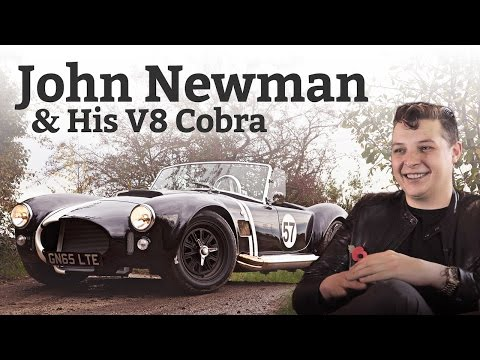 Why Popstar Petrolhead John Newman Drives A V8 Cobra