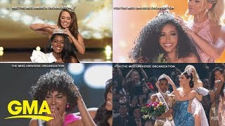 Historic black girl magic as 4 black women hold titles of 4 major pageants l GMA