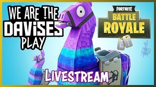 Monday Fortnite Duos with Tyler and Shawn | We Are The Davises Live Stream Gaming