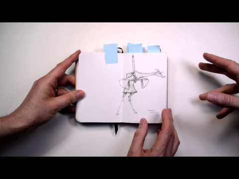 Chris Ayers and his amazing sketchbooks