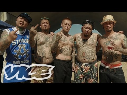 LIVING ON THE EDGE:The New Breed of Japanese Gangsters  境界線を