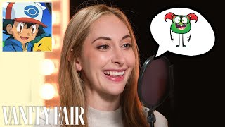 Sarah Natochenny (Ash from Pokémon) Improvises 10 New Cartoon Voices | Vanity Fair