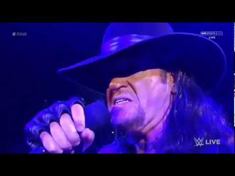 WWE RAW 23.01.2017: The Undertaker  ''Rest in Peace'' EPIC FAIL. Wrestlemania 2017.Royal Rumble.