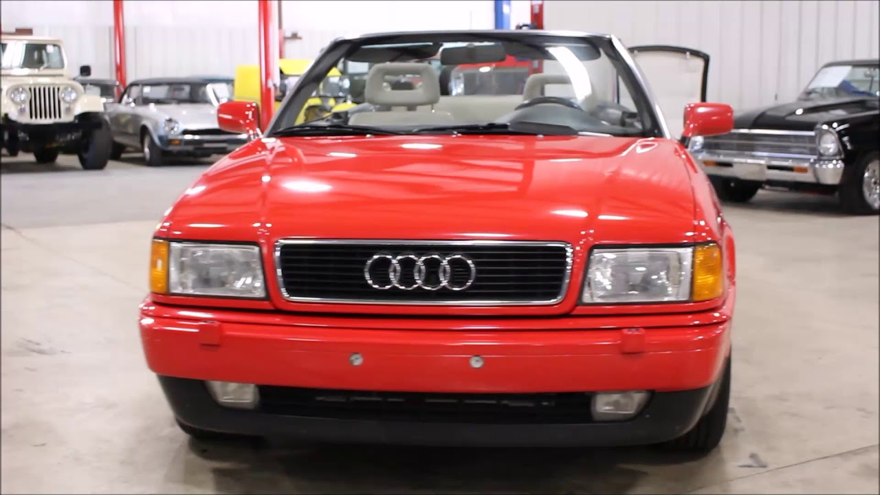 medium resolution of 1995 audi cabriolet