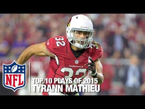 Top 10 Tyrann Mathieu Highlights of 2015 | NFL