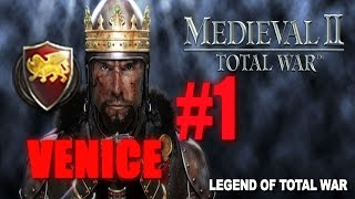 [#1] VENICE CAMPAIGN - Medieval 2 Total War Gameplay