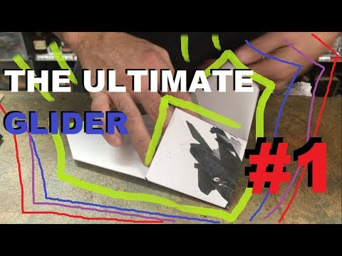 The Ultimate Paper Airplane Glider