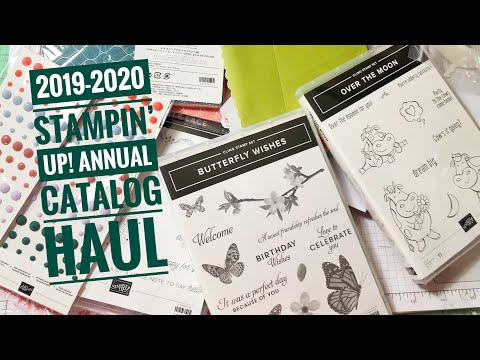 2019-2020 Stampin' Up! Annual Catalog Preorder Videos – Rick D