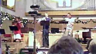 Aaron Staci Matt playing at Dassel Covenant Church Thumbnail