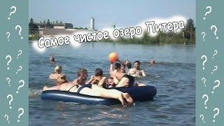 Смотреть видео Где купаться и загорать в Санкт-Петербурге. Самое чистое озеро Питера онлайн