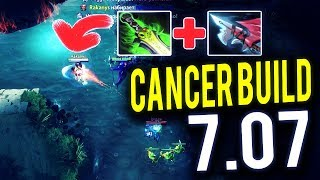MidOne [Drow Ranger] The Most Cancerous Build of Dota 2 Cancer Game 7.07 Dota 2