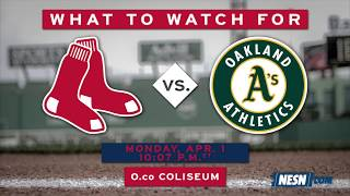 Red Sox vs Athletics Series Preview