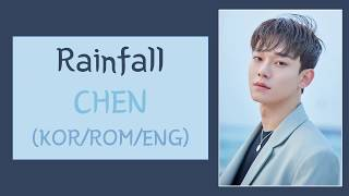 Chen (첸) - rainfall lyrics (chief of staff ost part 1)