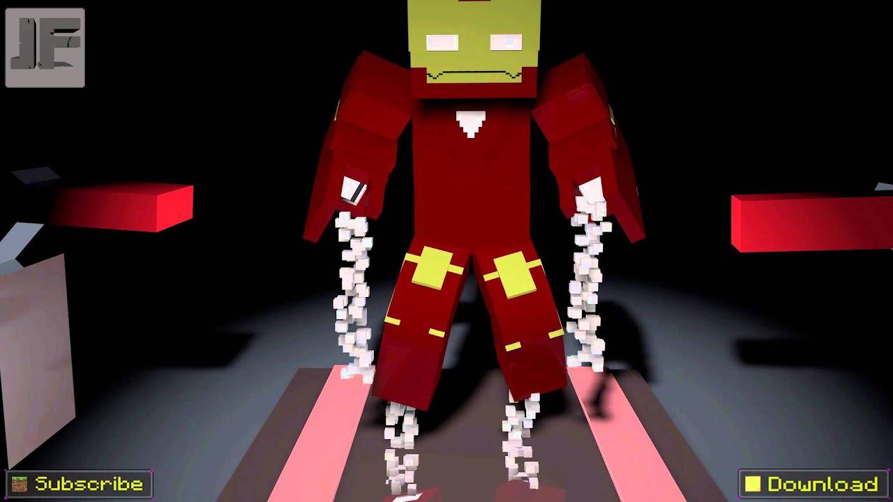 iron man 3 minecraft version rig download   youtube