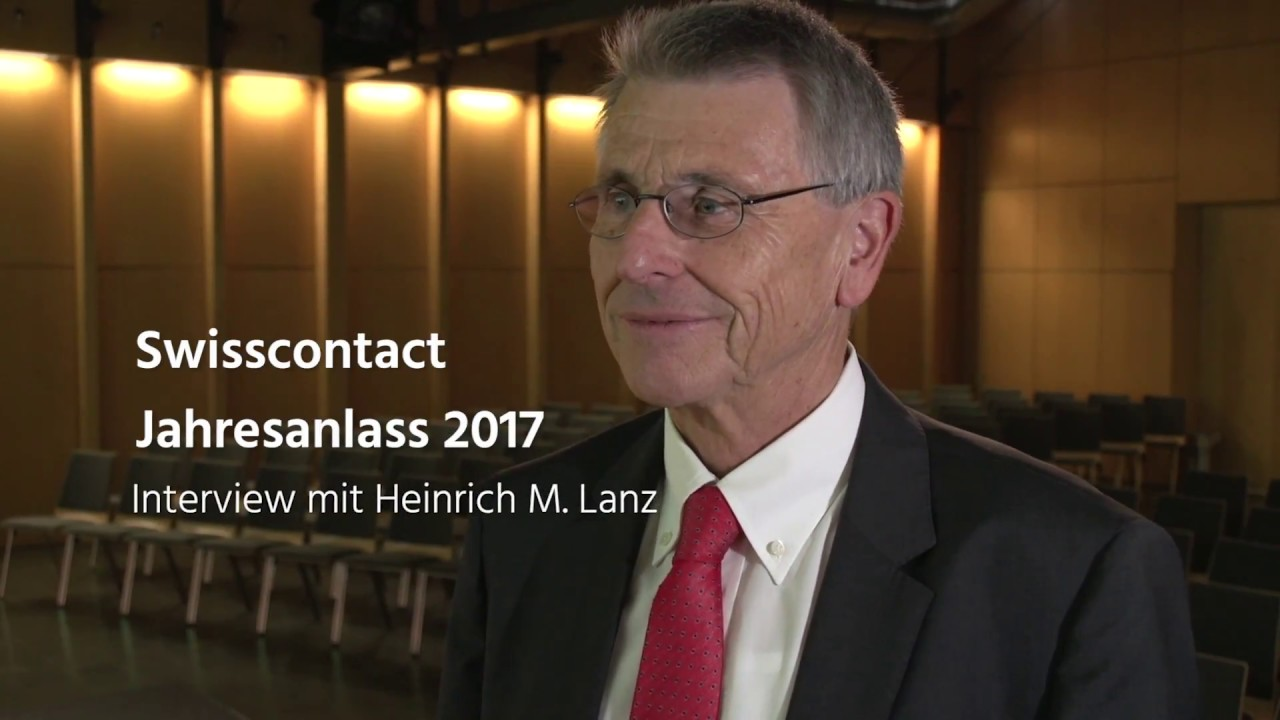 Jahresanlass 2017: Interview mit Heinrich Lanz, Präsident des ...